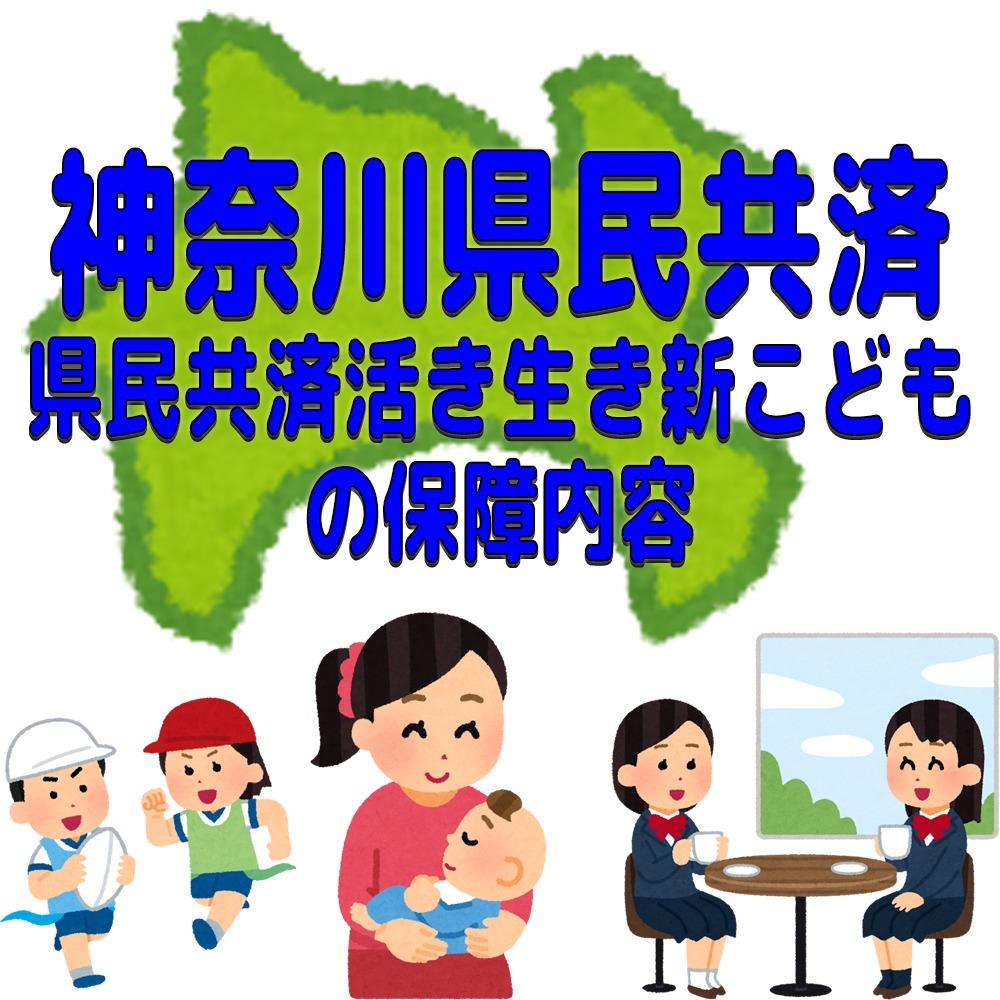 神奈川県民共済「県民共済活き生き新こども」保障内容