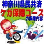 神奈川県民共済「ケガ保障コース」保障内容