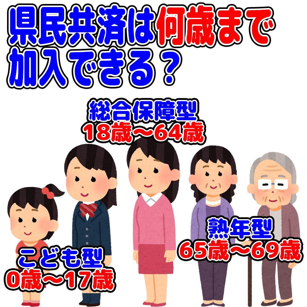 県民共済 何歳 加入条件