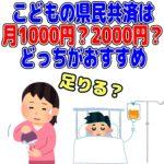県民共済 こども 1000円 2000円